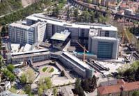 aereofotografie dell'ospedale di s, Chiara a Trento 22 aprile 2004